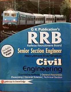 Books for RRB Section Engineer Exam preparation
