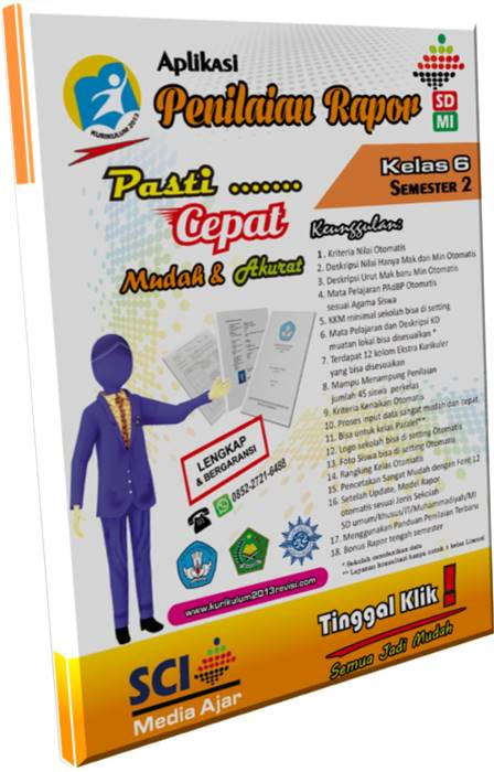 Aplikasi Penilaian K13 Smp Revisi 2018 : aplikasi, penilaian, revisi, Aplikasi, Rapor, Kurikulum, Revisi, Terbaru, Semarang