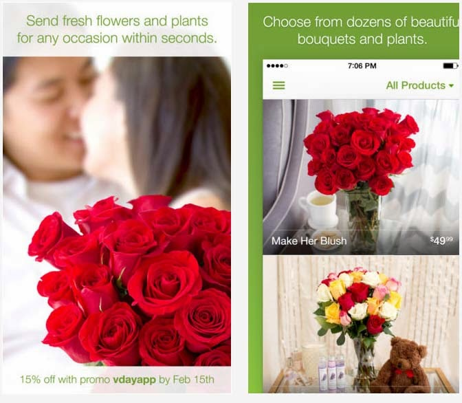Free ProFlower App For iPhone
