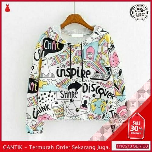 FNC218S51 Sweater Hoodie Hip Hop Wanita Babyterry BMGShop Serba 50 Ribuan