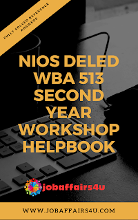 NIOS DELED 513 SOLVED WBA