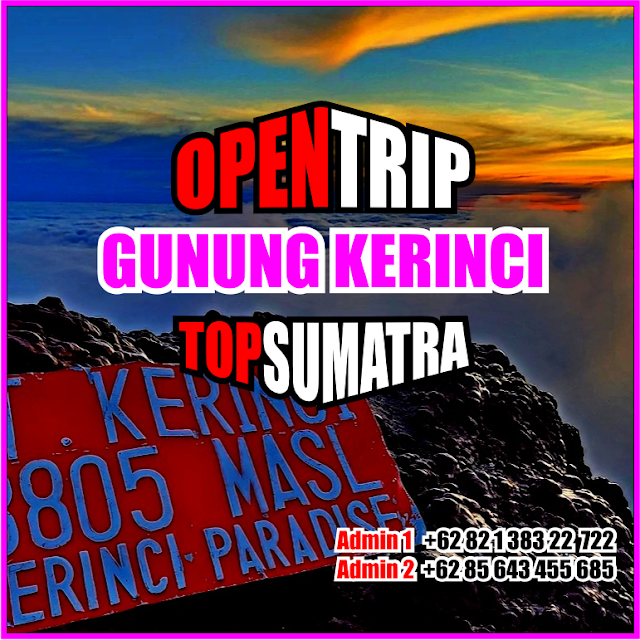 Open Trip Murah Gunung Kerinci 2021 Jalur Pendakian Via Kersik Tuo Jambi