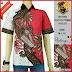 BTK135 Baju Hem Batik Kelopak Modis Murah BMGShop