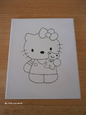 Hello Kitty diy