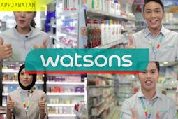 Jawatan Kosong di Watson's Personal Care Stores Sdn Bhd seluruh malaysia.