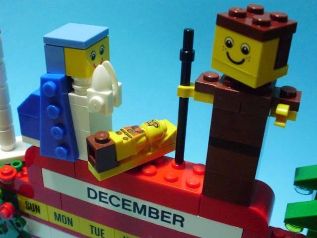 MOC LEGO Presépio