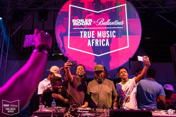 BOILER ROOM x BALLANTINE'S WRAPS UP ITS  FIRST-EVER PRETORIA TRUE MUSIC AFRICA  SHOW IN STYLE