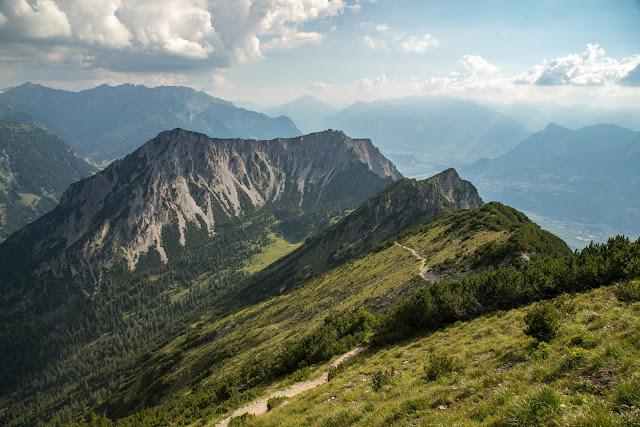 Fürstensteig  Gafadura Hütte - Drei-Schwestern - Gaflei  Wandern in Liechtenstein 13