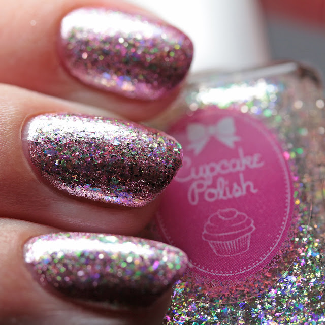 Cupcake Polish Diamond over Celebrate