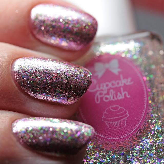 Cupcake Polish Diamond over Celebrate