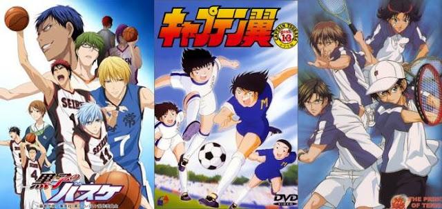 25 Anime Sports Terbaik dari Berbagai Jenis Olahraga