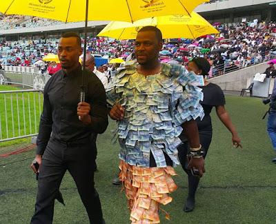 Durban herbalist Andile Dlamini money suit Sfiso Ncwane funeral