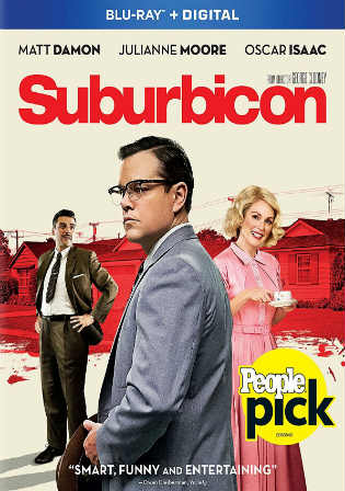 Suburbicon 2017 BRRip 300MB English 480p ESub Watch Online Full Movie Download bolly4u