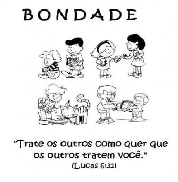 aulas para evangelizaÇÃo infantil bondade