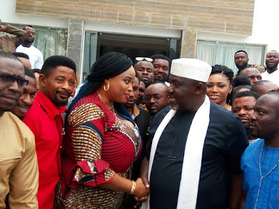 Repackage Imo, Okorocha Tells Imo Entertainers…As Ukpabi Solicits For Film Village