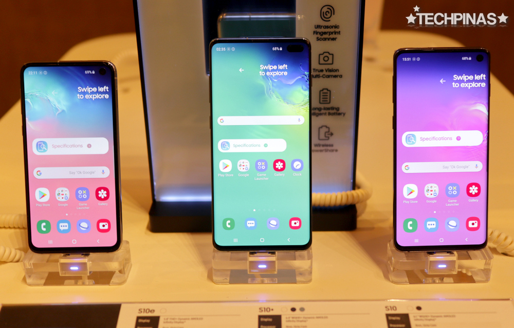 Samsung Galaxy S10e vs S10+ vs S10, Samsung Galaxy S10 Series Philippines