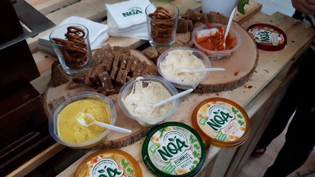 VeggieWorld München- Noa Hummus