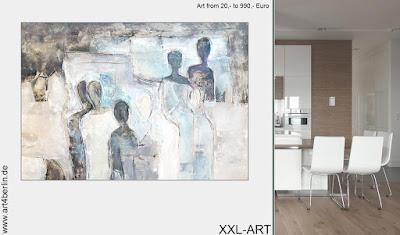 Berlin-Experten auf dem Gebiet zeitgenössischer Kunst im Großformat. Moderne, abstrakte Malerei in Acryl & Öl.