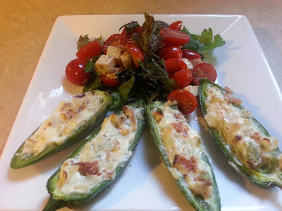 Just Call Me Frank: Our Endeavour at Being Frank: Cooking With Frank: Baked Jalapeño Poppers