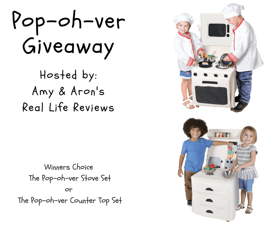 Blogger Opp Pop-oh-ver Giveaway