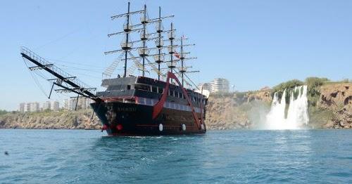جولة بحرية في سفينة القراصنة في كيمير انطاليا - جولات ...