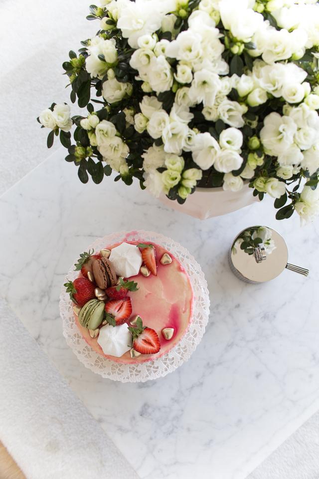 Villa H, resepti, kesän juhlat, valkosuklaa-popcorn kakku