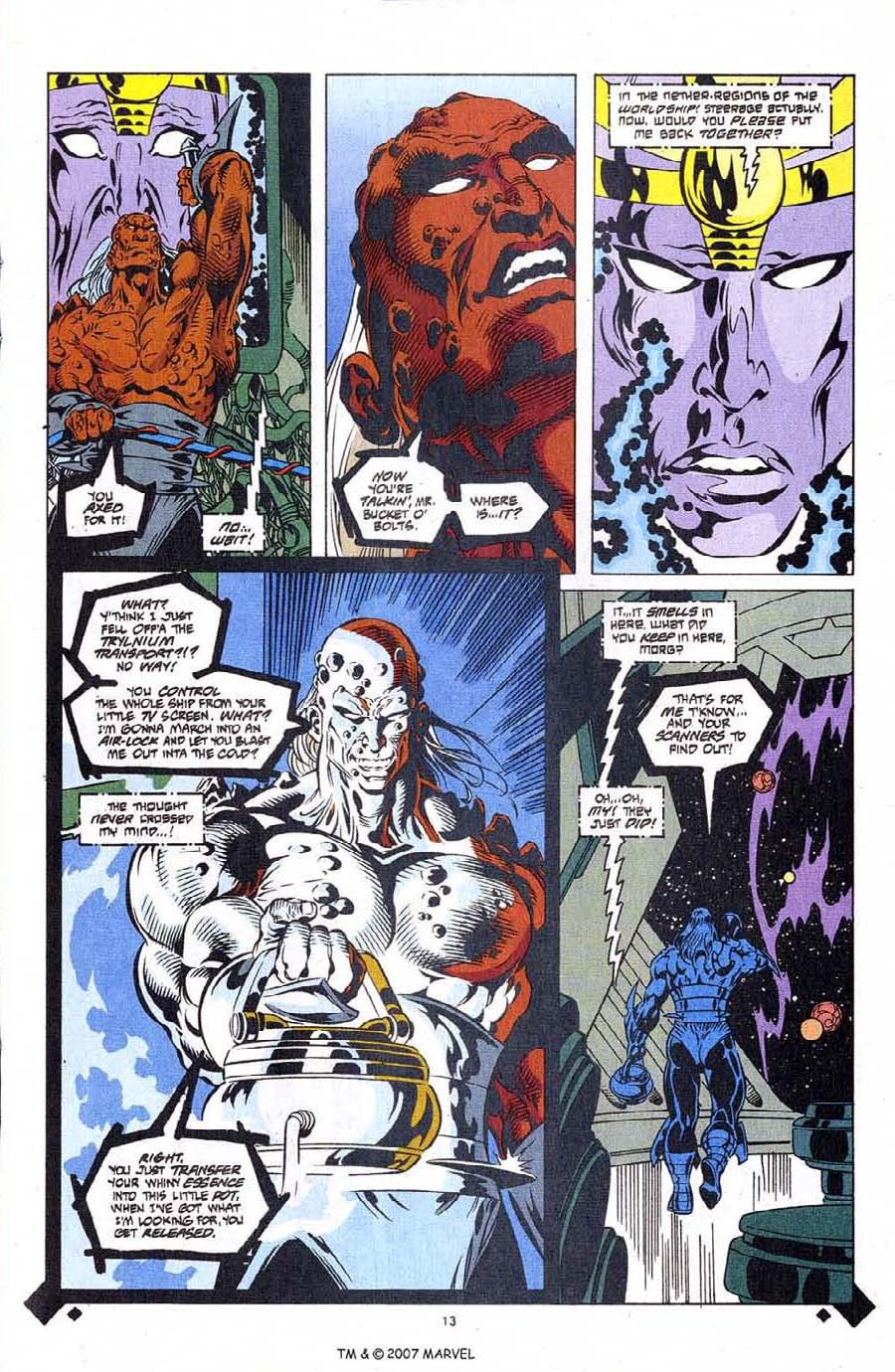 Read online Silver Surfer (1987) comic -  Issue #107 - 15