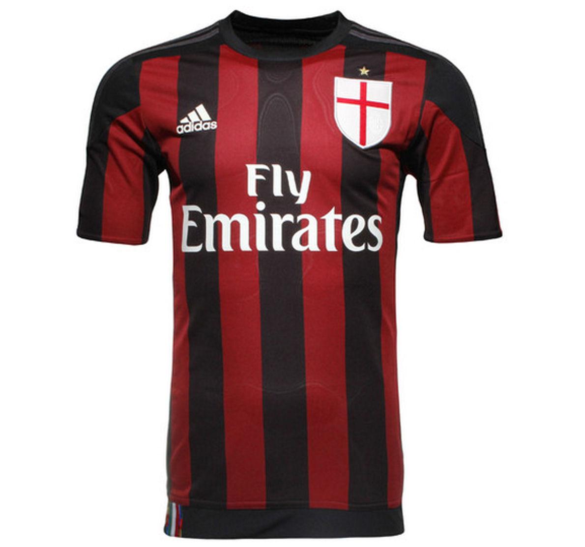 Equipacion De Futbol Baratas: Camisetas De Ac Milan Futbol Baratas Equipacio