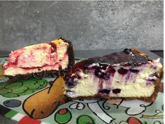 Two Fabulous New Cheesecakes