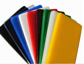 Perspex, la variación de plástico más utilizada