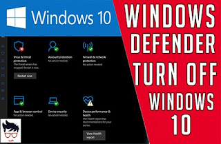 How to turn off windows defender real time protection windows 10 2019