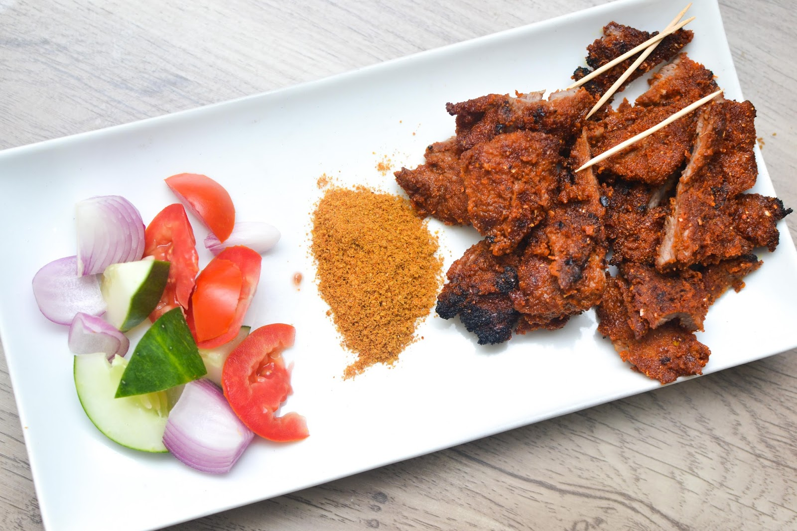 Chicken Suya in Lagos