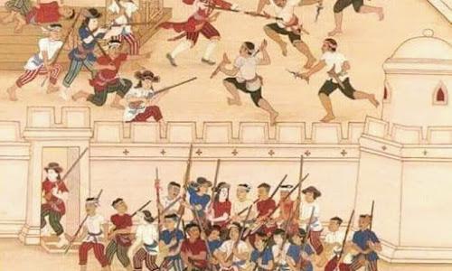 Kisah Pemberontakan Orang-Orang Makassar di Ayutthaya