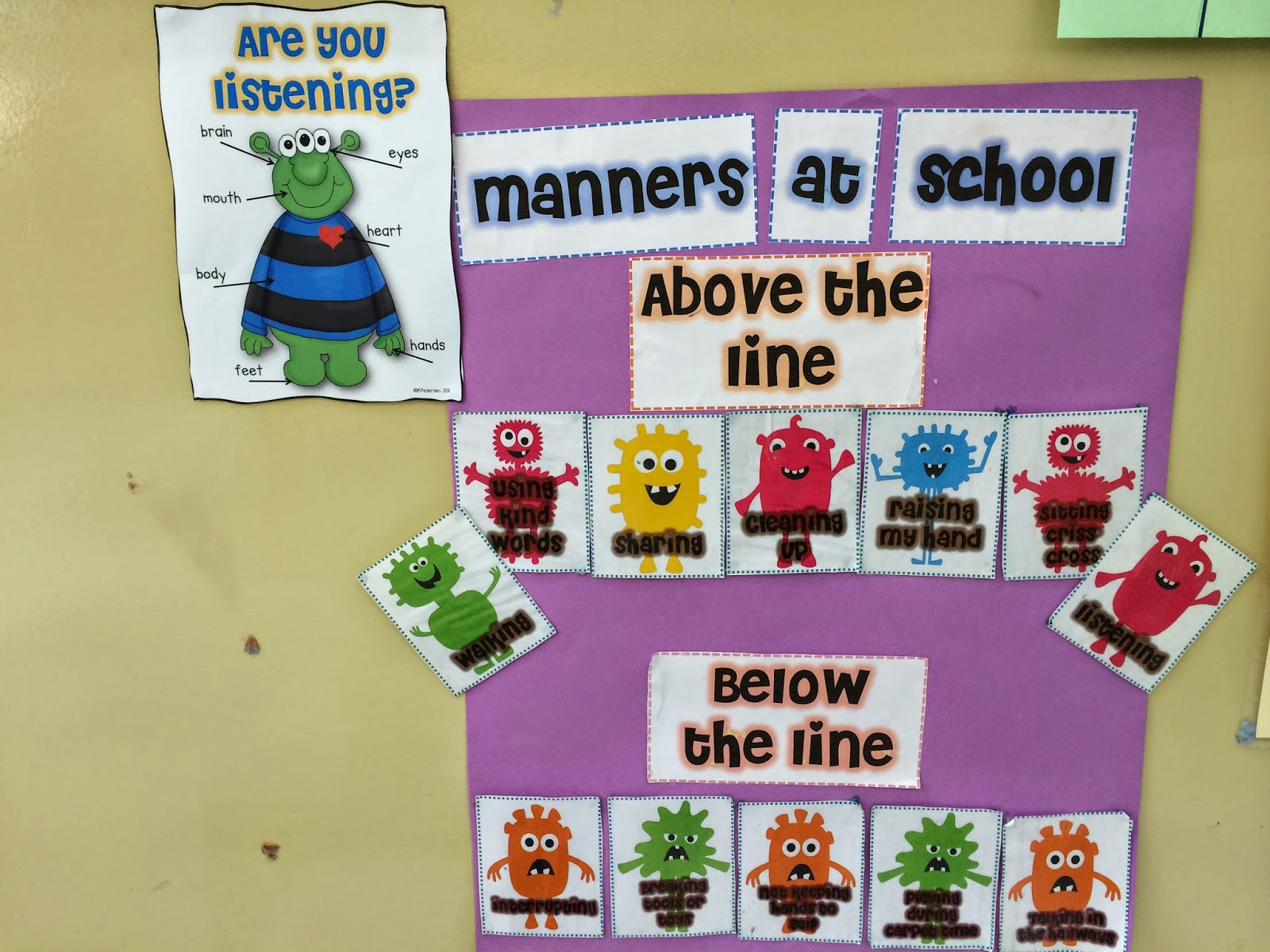Spoonfuls Of Kindergarten Manners And A Unit On Feelings