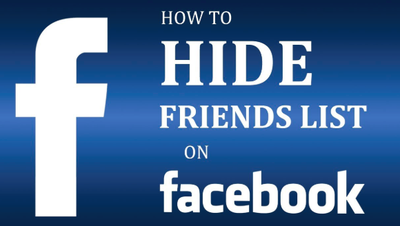 How to Hide Friendlist On Facebook