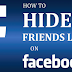 Facebook How to Hide Friends List From Everyone Updated 2019