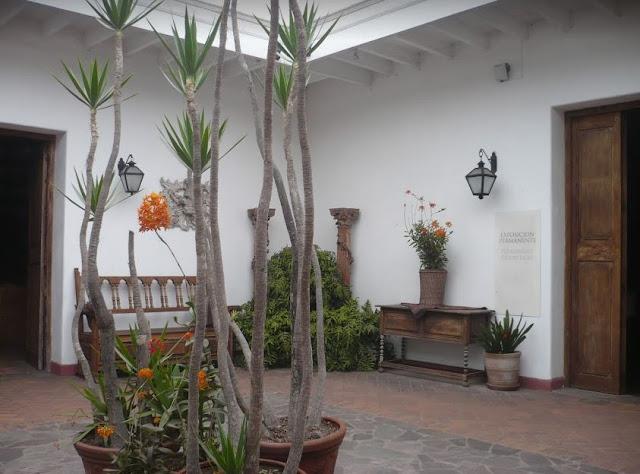 Cortile del Museo Larco