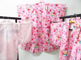 7歳女児の四つ身衣装