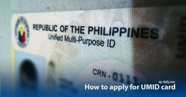 How to Apply Unified Multi-purpose (SSS) ID Card
