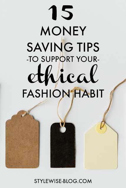 15 money saving tips to support ethical fashion
