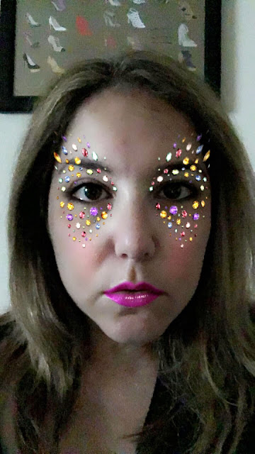 Jamie Allison Sanders, Snapchat filter, jeweled snapchat filter