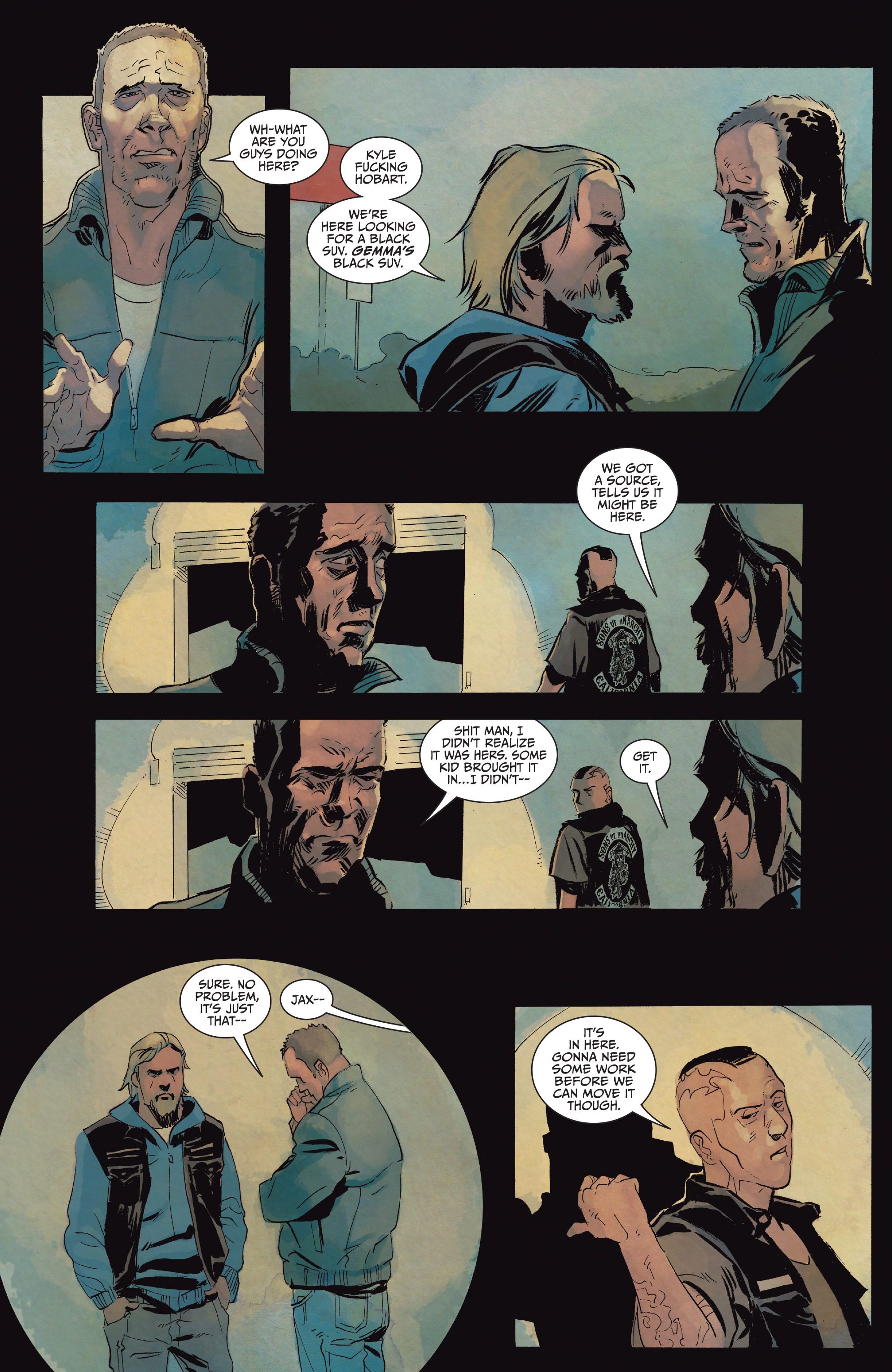 Read online Sons of Anarchy comic -  Issue #15 - 8