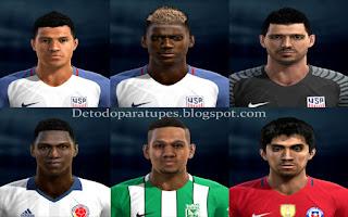 PES 2013 Mix Facepack v2 Copa America 2016