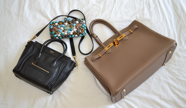 22318309bd From left to right  the crossbody bag