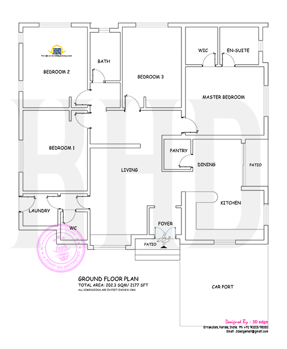 Floor plan Ernakulam