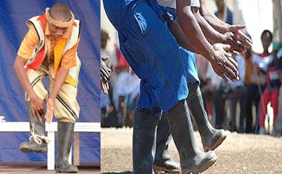 Estetika Tari Gumboot Tarian Sepatu Bot Afrika Selatan