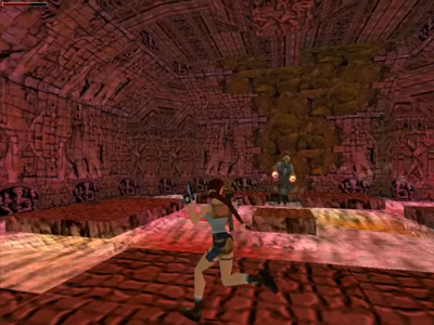 Tomb Raider 3 Boss