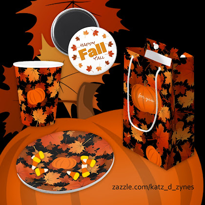 Happy Fall Y'all collection from katzdzynes on Zazzle