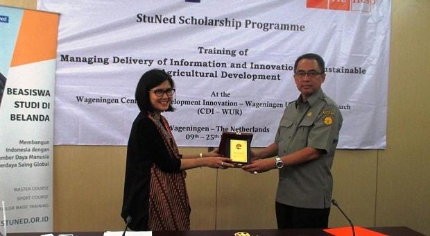 Nuffic Neso Berikan Beasiswa pada 20 Staf Kementerian Pertanian