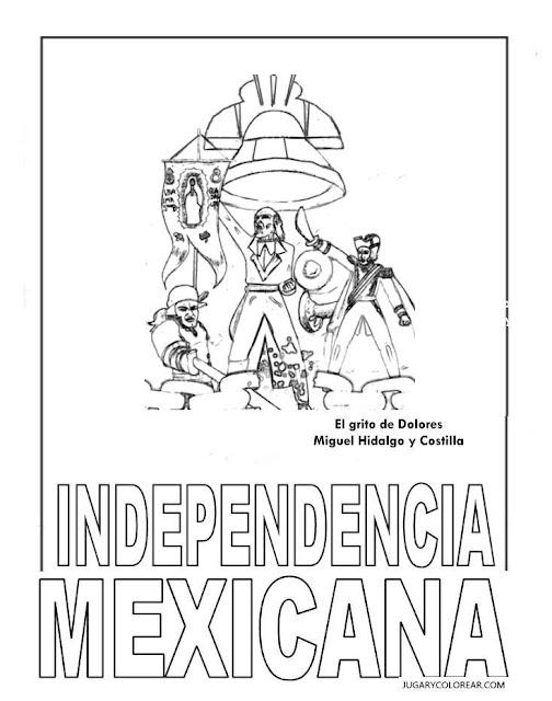 Miguel Hidalgo colorear